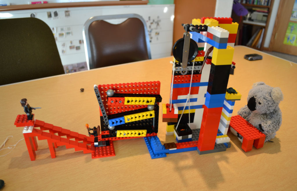 power of prototyping using Lego blocks